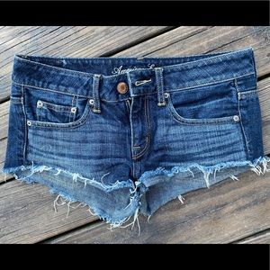 SOLD—-American Eagle Cut-off Shorts size 4
